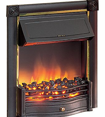 Dimplex Fuel-Effect Fire, Horton HTN20BL, Black