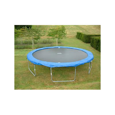 Dino Cars 12ft Round Trampoline FS001 - Side