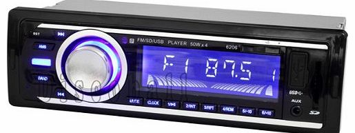 discoball Car Stereo Headunit MP3 Player Radio FM WMA USB SD AUX-IN Ipod Iphone