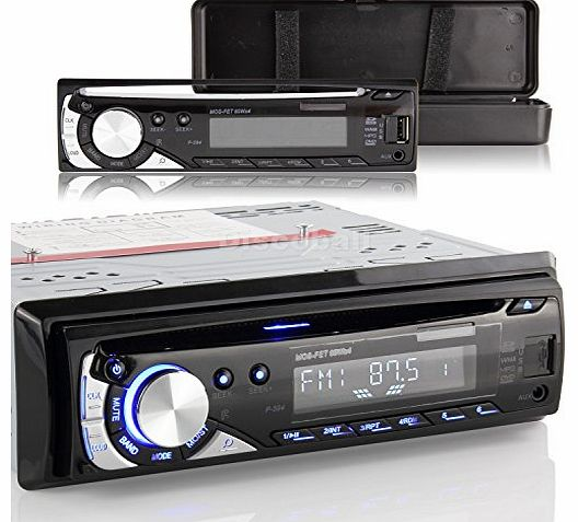 discoball  Car Stereo CD VCD DVD Player Radio FM MP3 AUX SD USB In Dash 1 DIN Panel Removable