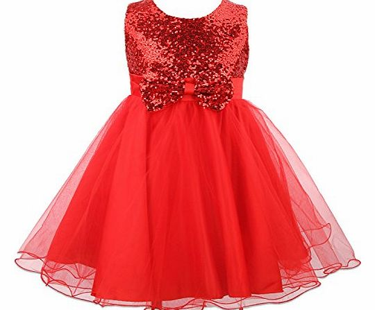 Wedding bridesmaid party christening christmas dress age 2 12 years 3