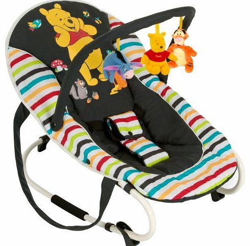 Disney Baby Pooh Tidy Time Bungee Deluxe Baby Bouncer