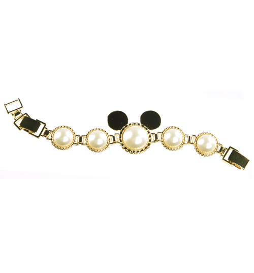 Gold Plated and Ivory Pearl Minnie Mawi Chunky