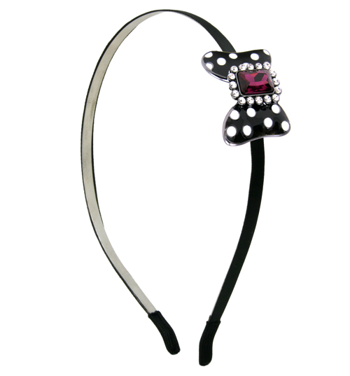 Minnie Mawi Diamante Bow Headband from Disney