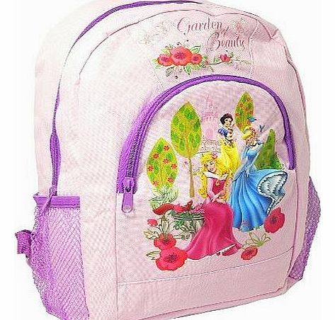 PRINCESS GIRLS KIDS LARGE PADDED SCHOOL BACKPACK RUCKSACK TRAVEL BAG NEW