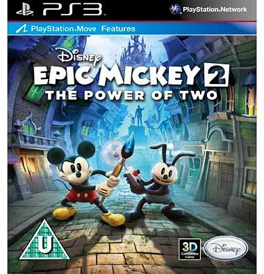 Epic Mickey 2 - Power of the Two - PS3 Game