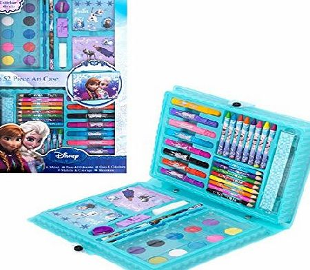 Disney Frozen Art Case - 52 Pieces