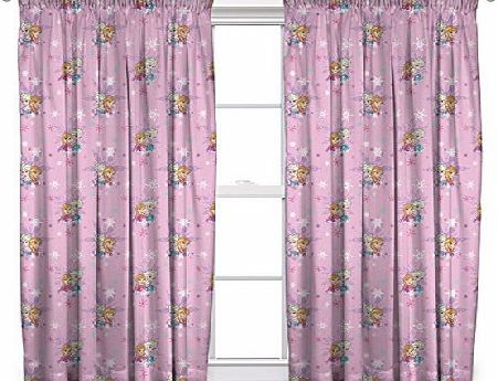 Disney Frozen Character world 54-Inch Disney Frozen Magic Curtains