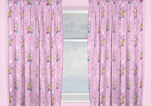 Disney Frozen Character world 72-Inch Disney Frozen Magic Curtains