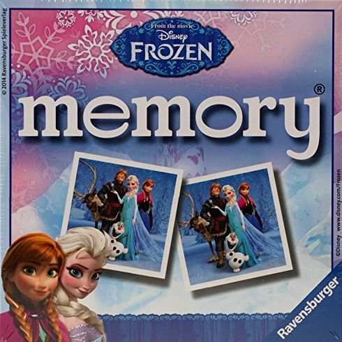 Disney Frozen Memory Card Set Toy - 48 Piece Game - Ravensburger
