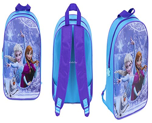 New Disney Frozen Elsa Anna and Olaf Backpack School Bag Official Licensed