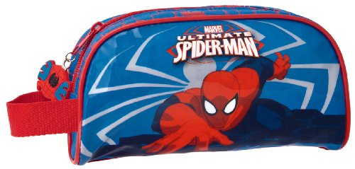 Genuine Childrens Kids Boys Girls Bags and Luggage (Pencil Case Spider-man 21x12x5cm)