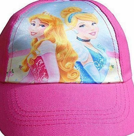 Disney Girls Disney Princess Fairytale Summer Baseball Cap Hat