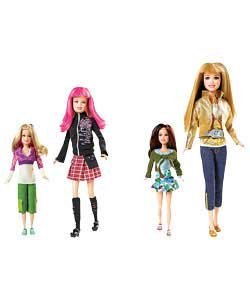Hannah Montana 2-in-1 Style Doll Assortment