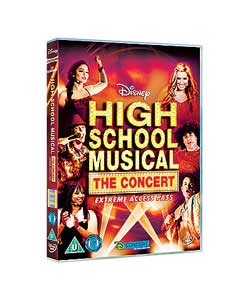 disney High School Musical Concert DVD