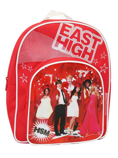 High School Musical 3 Arch Backpack Rucksack Bag