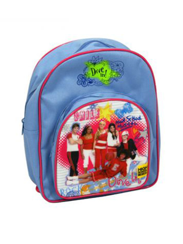 High School Musical `cribbles`Backpack Rucksack Bag w pocket