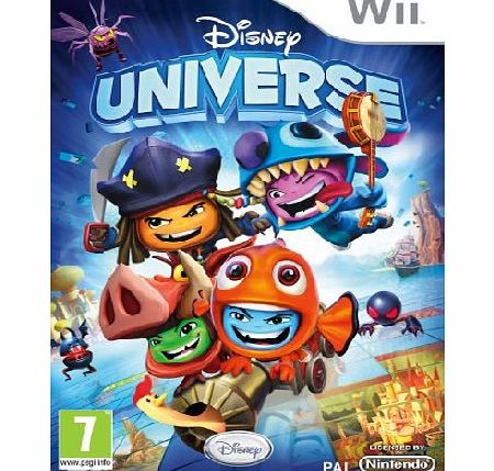 Disney Universe on Nintendo Wii