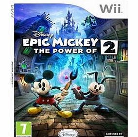 Epic Mickey The Power of 2 on Nintendo Wii