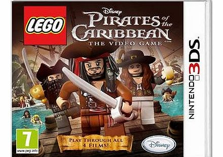 Lego Pirates of the Caribbean on Nintendo 3DS