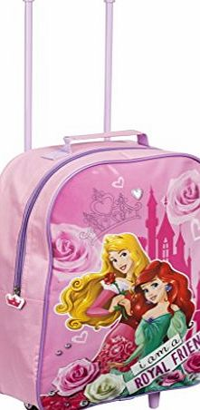 Disney Marvel Kids Boys Girls Cabin Trolley Case Wheeled Bag Suitcase Hand Luggage - Disney Princess