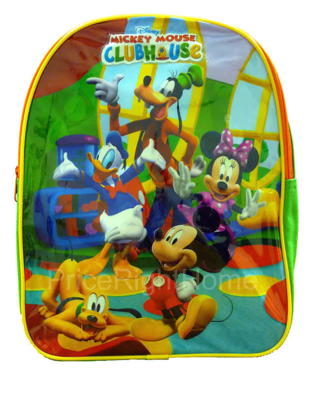 Mickey Mouse Clubhouse Backpack Rucksack Bag