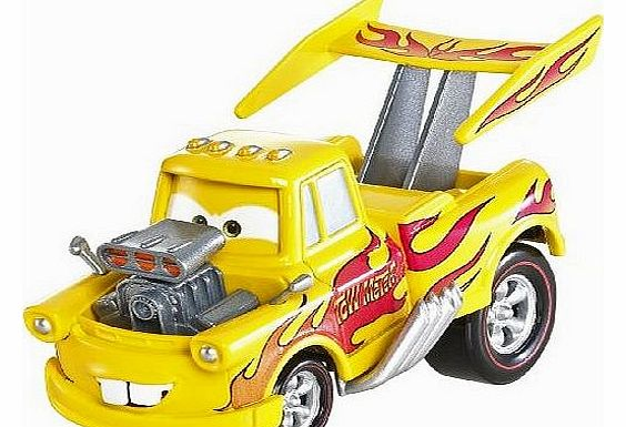 Pixar Cars 2 Oversize Deluxe Diecast - Funny Car Mater