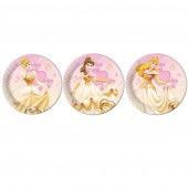 disney Princess 9 inch Party Plates - 12 in a pack