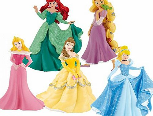 Disney Princess Bullyland Disney Princess Deluxe Set