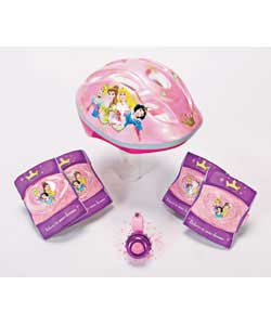 Princess Helmet Pads and Bell Set