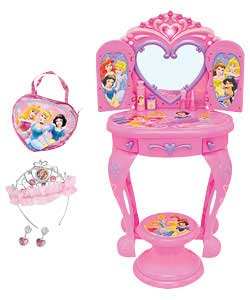 Princess Light Up and Sound Vanity Table