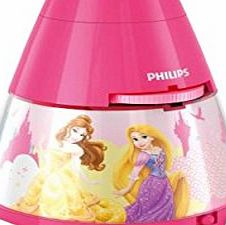 Disney Princess Philips Disney Princess Childrens Night Light and Projector Integrated LED, 1 x 0.1 W