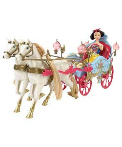 Princess Snow White Carriage and Doll