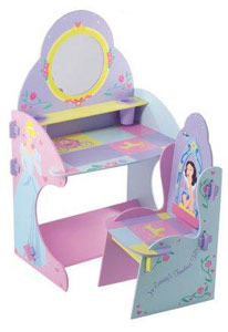 Princess Vanity Table and Chair