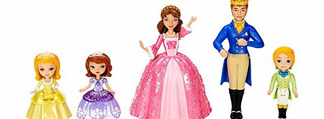 Sofia the First Family Doll Pack