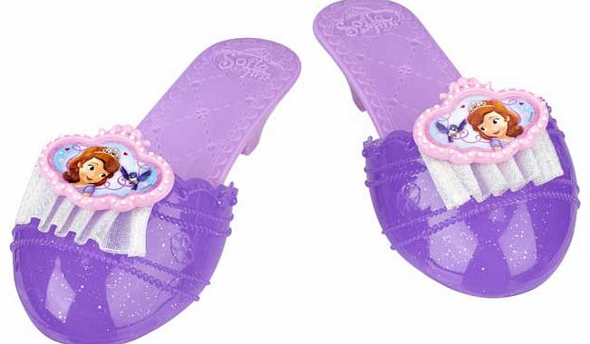 Sofia the First Royal Dress Up Shoes