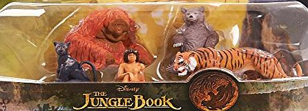 Disney The Jungle Book Action Figure Set- 5 Pack
