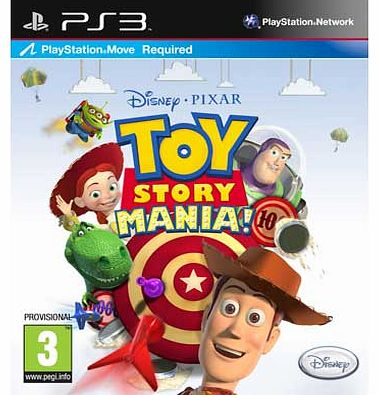 Toy Story Mania - PS3 Game