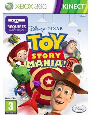 Toy Story Mania Xbox 360 Game