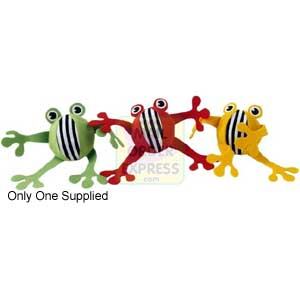 DKL Soft Wood Leaping Froggy