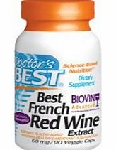 French Red Wine Extract 60mg 90 Capsules