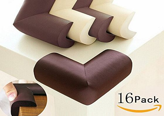 Domire  Baby Safety Proofing Caring Corners 16 Pack Safe Edge and Corner Cushion Home Furniture Safety Bumpers Toddler Table Protector
