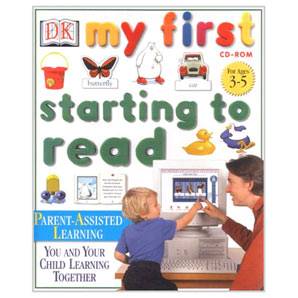 Dorling Kindersley Starting to Read PC CD