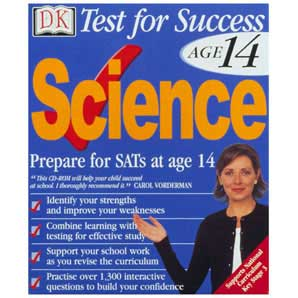 Dorling Kindersley Test Success Age 14- Science PC CD