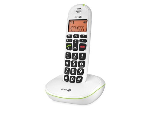 PhoneEasy 100W Single DECT Cordless Phone - White