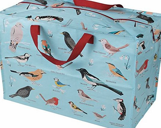 dotcomgiftshop The Original Jumbo Storage Bag - Garden Birds