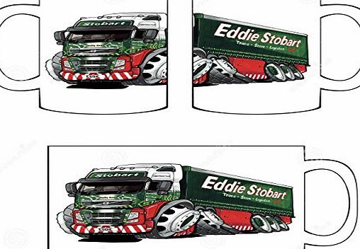 DottsMusic Eddie Stobart Truck - Official Licensed Koolart Design - Fun Novelty Hobbyist Tea/Coffee Mug/Cup - Great Gift Idea