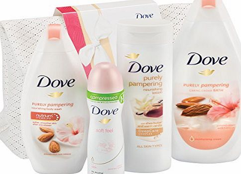 Dove Pamper Me Washbag Gift Set