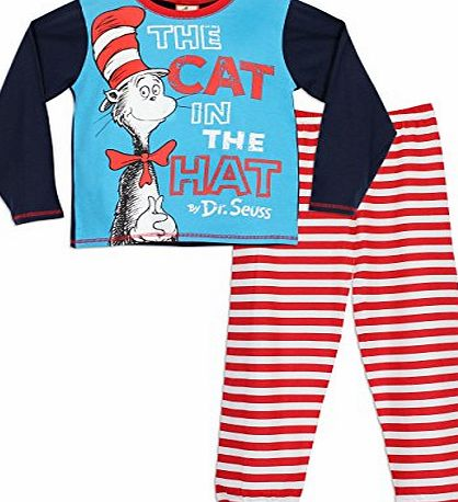 Dr. Seuss Dr Seuss Boys The Cat in the Hat Pyjamas Age 5 to 6 Years