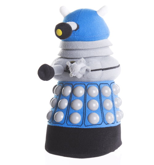 Who Blue Dalek Plush Toy